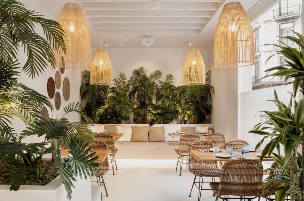 Restaurante mediterraneo LIA en valencia